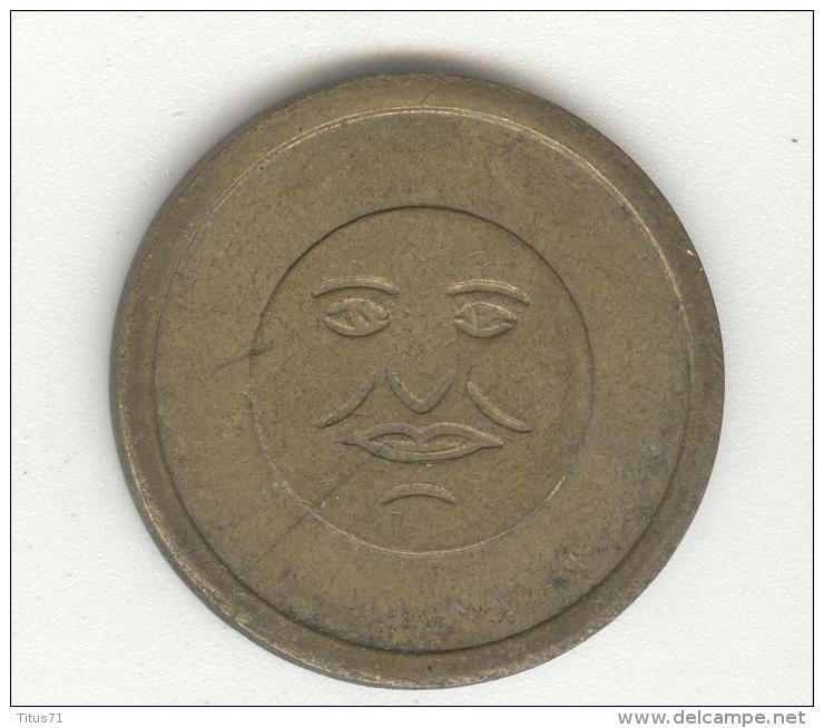 Jeton Visage Stylisé - 2 Faces Identiques - Jetons & Médailles