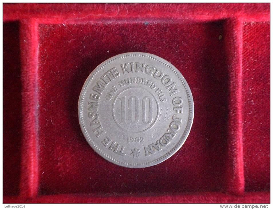 MONEY COIN الأردن GIORNANIA JORDAN 100 FILS 1962 - Jordanie