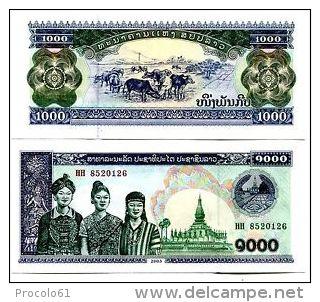 LAO LAOS 1000 KIP 2003 UNC  FDS - Laos