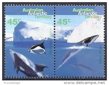 ANTÁRTIDA AUSTRALIANA 1995 - Yvert #102/05 - MNH ** - Australian Antarctic Territory (AAT)