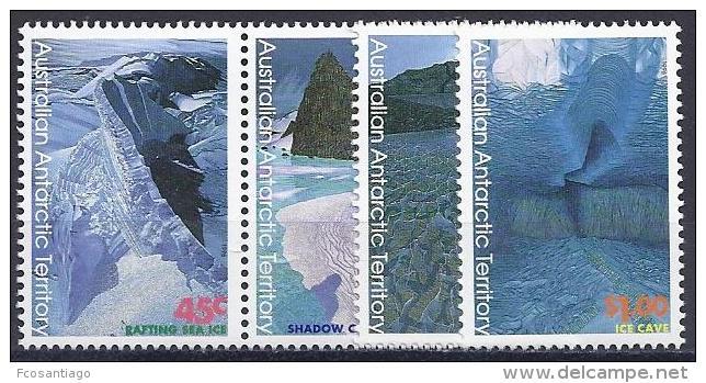 ANTÁRTIDA AUSTRALIANA 1996 - Yvert #106/09 - MNH ** - Unused Stamps
