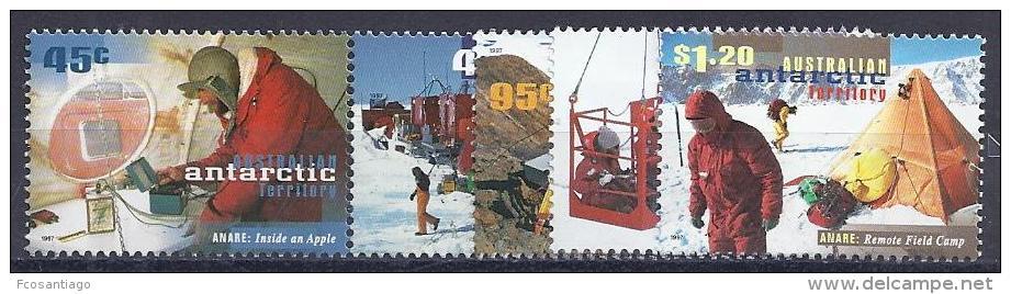 ANTÁRTIDA AUSTRALIANA 1997 - Yvert #110/14 - MNH ** - Australian Antarctic Territory (AAT)
