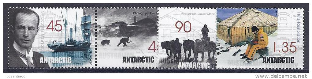 ANTÁRTIDA AUSTRALIANA 1999 - Yvert #119/22 - MNH ** - Australian Antarctic Territory (AAT)