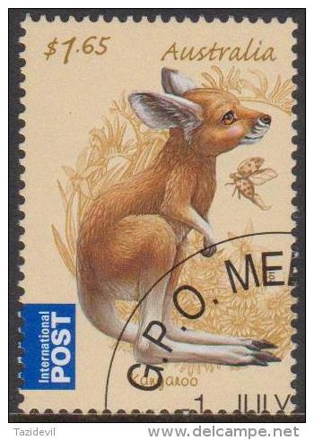 AUSTRALIA - USED 2011 $1.65 Bush Babies -Kangaroo, International - Animal - 2010-... Elizabeth II