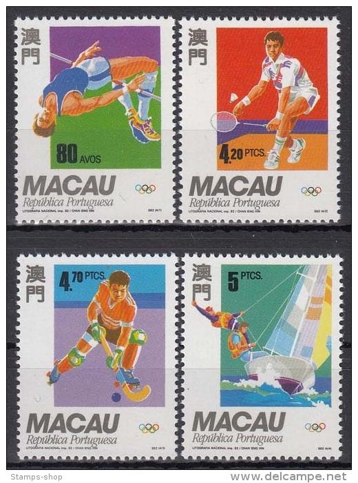 Macau MiNr. 702/05 ** Olympische Sommerspiele In Barcelona - 1999-... Sonderverwaltungszone Der China