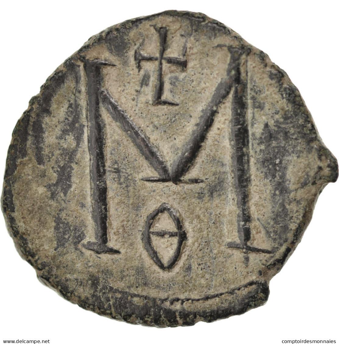 [#45559] Michel II Et Théophile, 40 Nummi (Follis), Syracuse, Sear 1652 - Byzantines