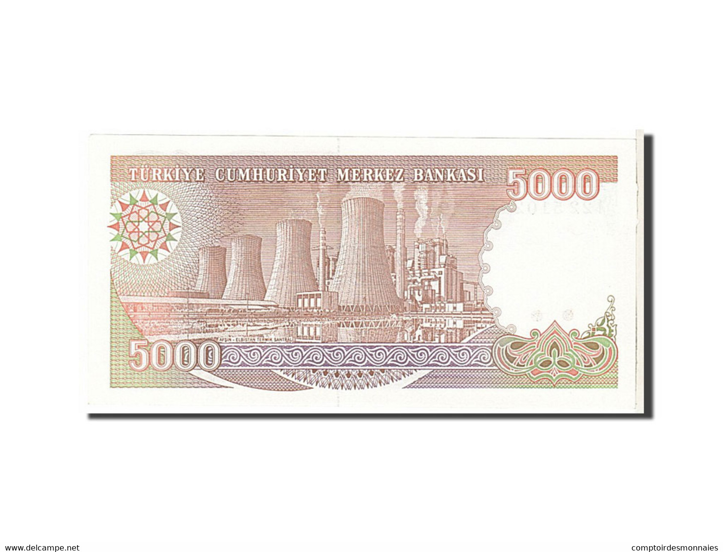 [#111452] Turquie, 5000 Lira Type 1990 - Turchia