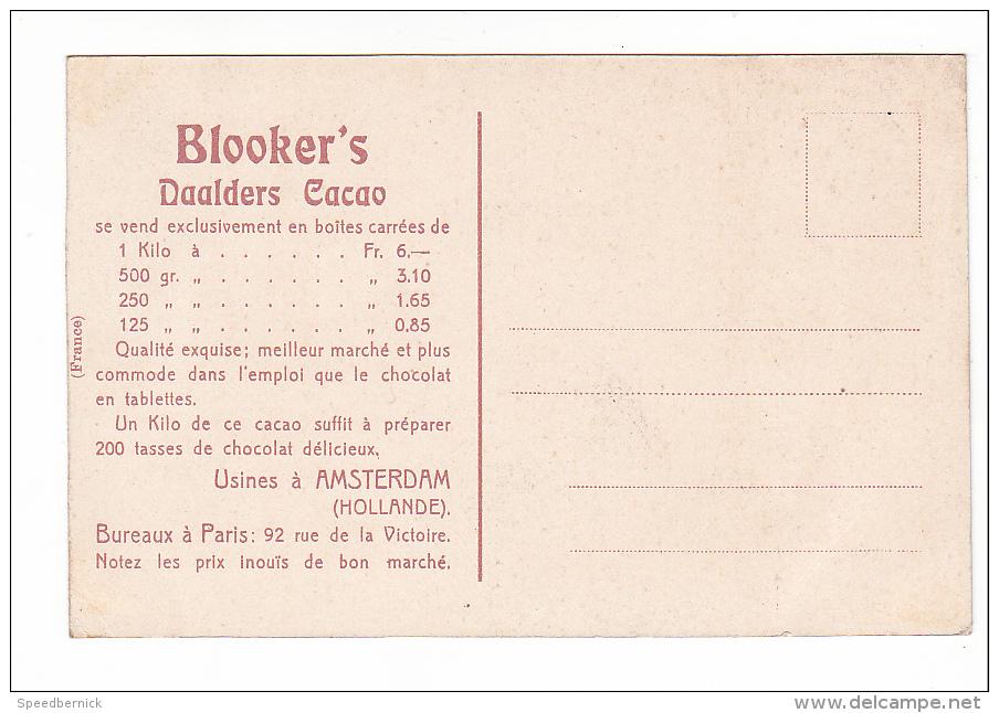 24549 HOLLANDE PAYS-BAS Le Marché à MIDDELBOURG -Blooker's Daalders Cacao -publicite Chocolat - Middelburg
