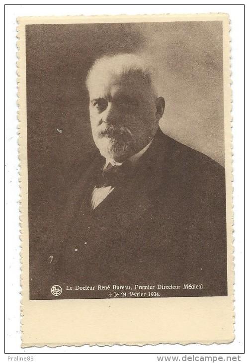 INSTITUT MEDICAL MUTUALITES SOCIALISTE, LA HESTRE (Manage, Hainaut, Belgique) - DOC. R. BUREAU, 1er  DIRECTEUR MEDICAL - Manage
