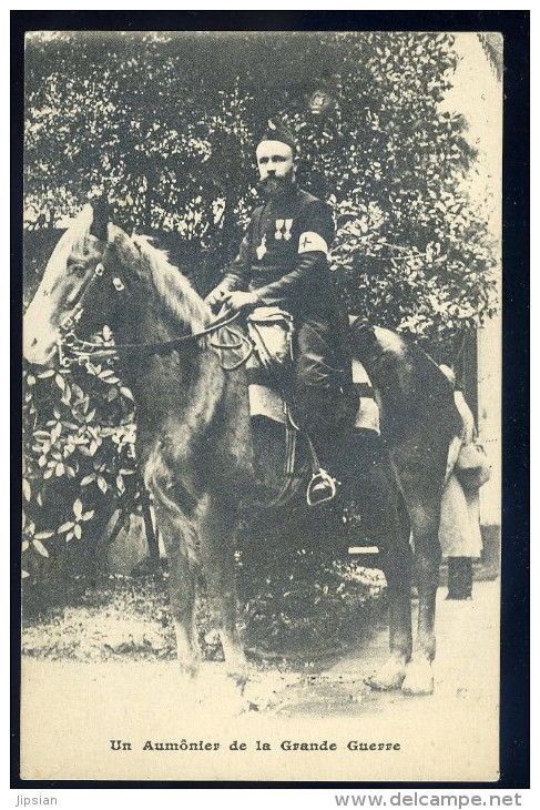 Cpa Militaria  -- Un Aumonier De La Grande Guerre   SEPT25 - Guerre 1914-18