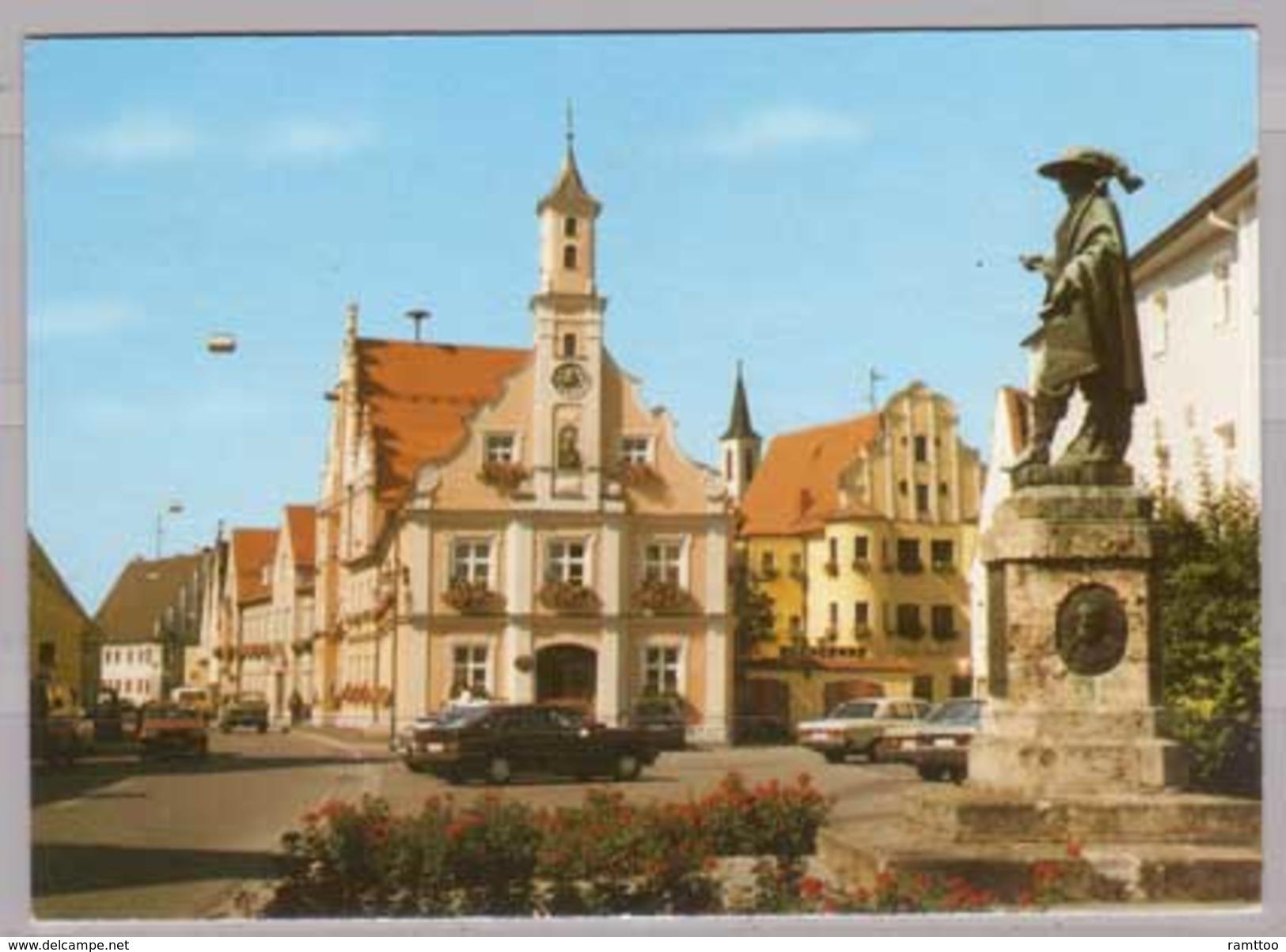 Rain Am Lech , Rathaus Mit Tilly - Deutschland
