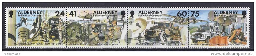ALDERNEY 1996 - Yvert #90/3 - MNH ** - Alderney