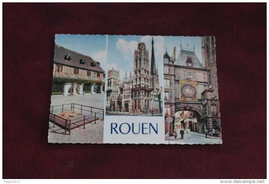 CPM 76 *ROUEN     MULTIVUES - Rouen