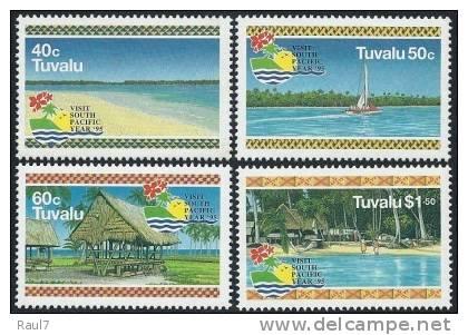 Tuvalu - 1995 - Paysages Tuvalu - 4v Neufs ** // Mnh - Tuvalu