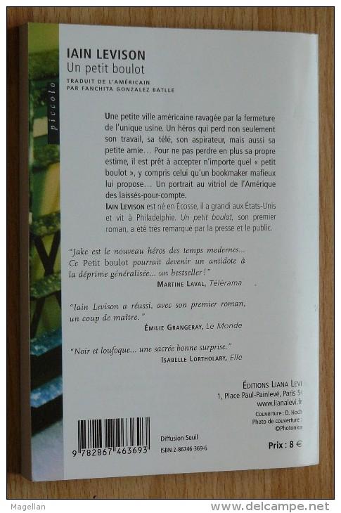 Ian Levison - Un Petit Boulot - Editions Lian Levi - Piccolo N°28 - Livres, BD, Revues