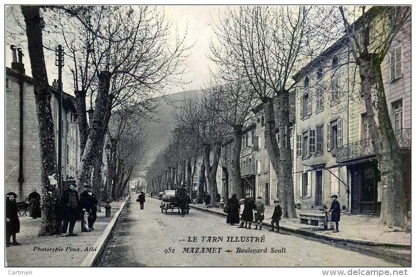 81  MAZAMET  BOULEVARD SOULT  ANIMATION - Mazamet