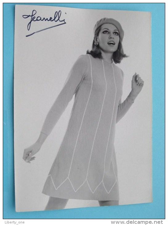 "Foto PIET SELHORST Gent MODE Publiciteit "" Pitchou "" Jeanelli ( Formaat PK / CP Zie Foto Voor Details ) ! - Vintage Clothes & Linen"
