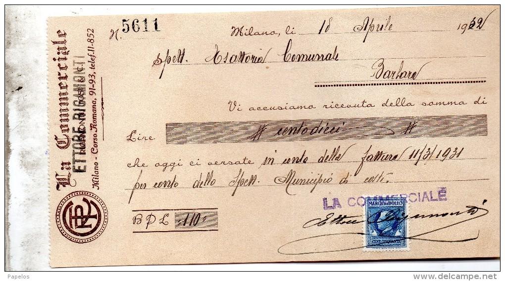 1932 CAMBIALE - Bills Of Exchange