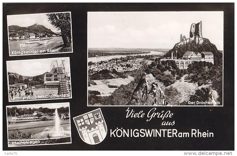 Allemagne - Gruss Aus Königswinter Am Rhein - Koenigswinter