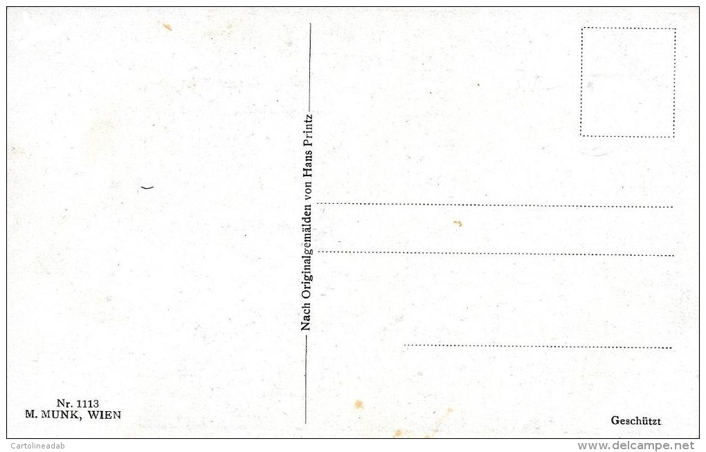 [DC4920] CARTOLINA - DIE JUNGFRAU VON ORLEANS - Non Viaggiata - Old Postcard - Cartoline