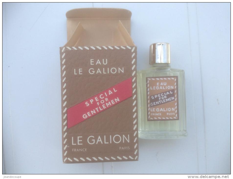 - Eau De Toilette - Parfum - Le Galion - For Gentlemen - Flacon Miniature Plein - 1947 - - Vintage Miniatures (until 1960)