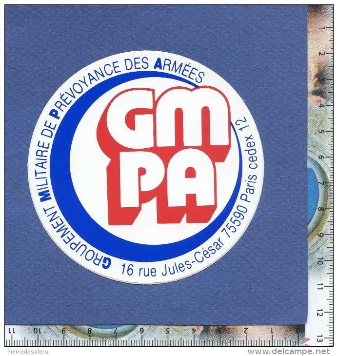 Autocollant - GMPA - Groupement Militaire De Prévoyance Des Armées - Militaria - Sticker - Stickers
