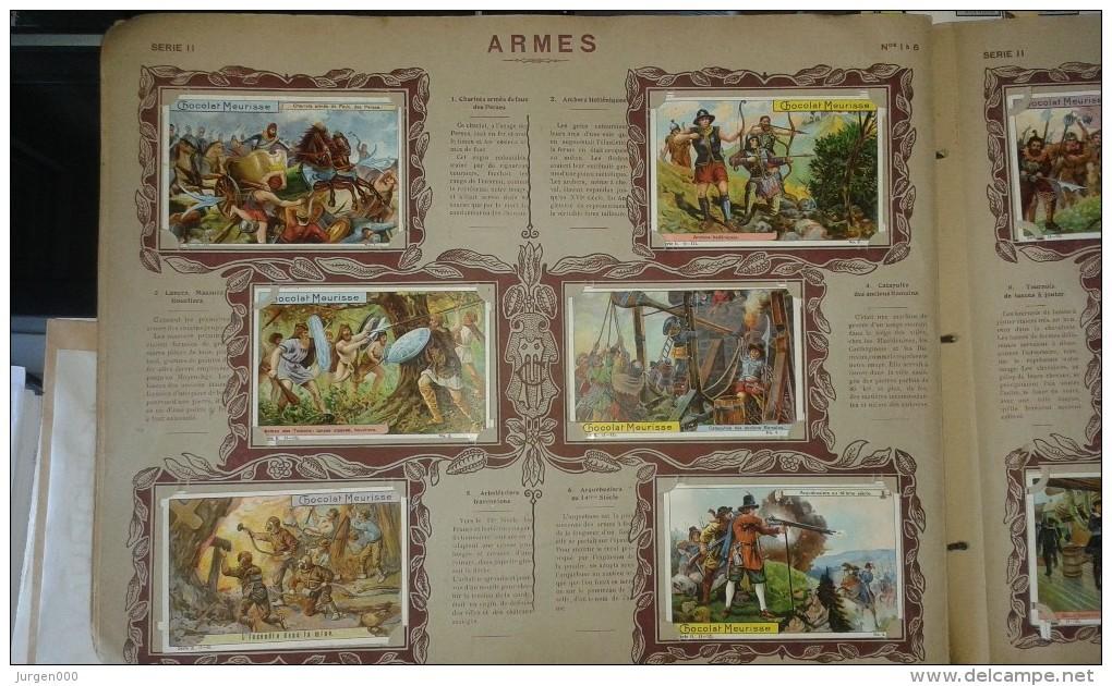 Album Des Chromos Meurisse, Chocolat Anvers, 1910, Compleet Album (E00144) - Chocolat