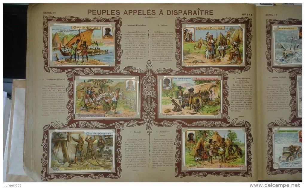 Album Des Chromos Meurisse, Chocolat Anvers, 1910, Compleet Album (E00144) - Cioccolato