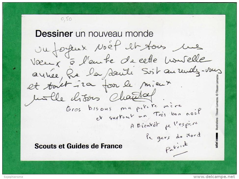 Scouts Et Guides De France Dessiner Un Nouveau Monde Titouan Lamazou (église Chapelle Croix) - Scoutisme