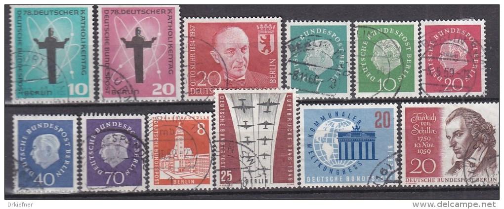 BERLIN Jahrgang 1958-1959, Komplett, Gestempelt, 179-190 - Gebraucht