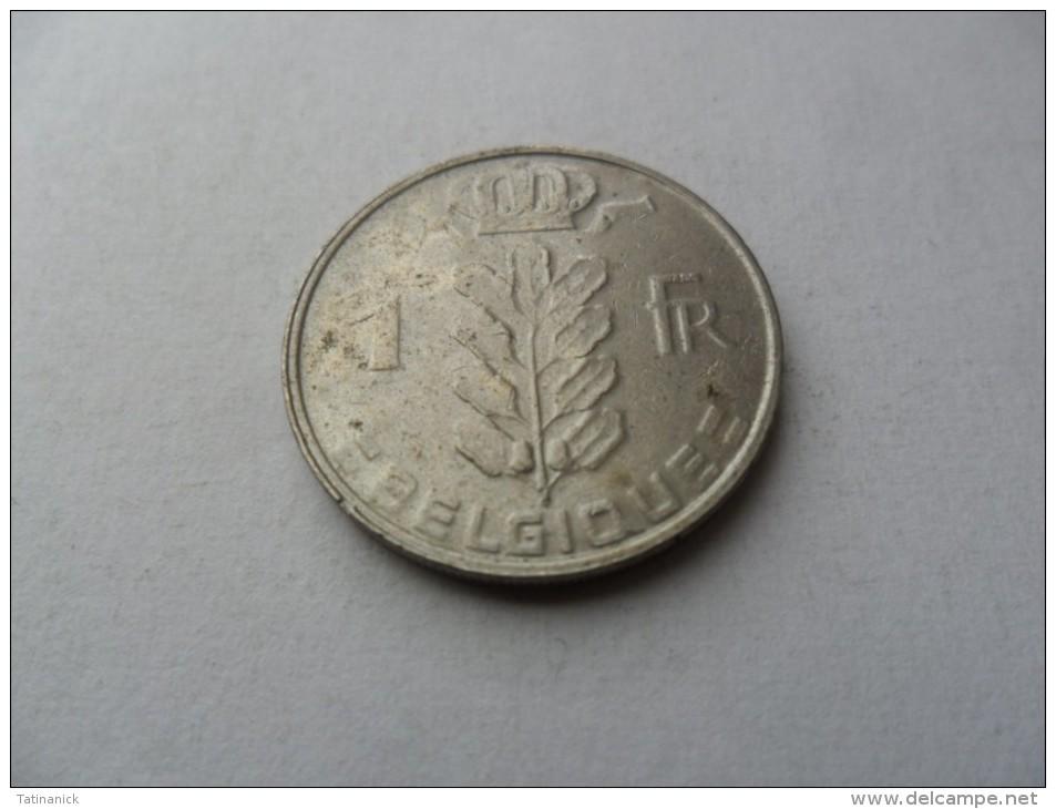 1 Franc 1988 Type Cérès En Français - 1951-1993: Boudewijn I