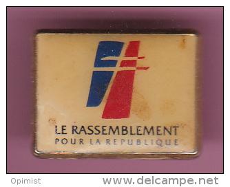 47147-Pin's.Politique.RPR.République.. - Administrations