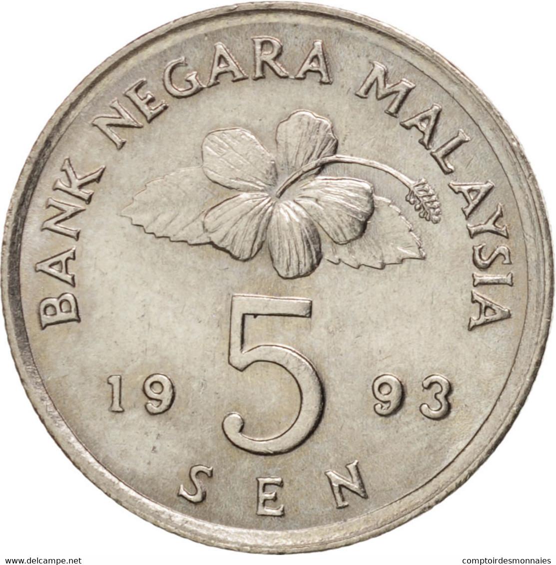 Malaisie, 5 Sen 1993, KM 50 - Malaysie