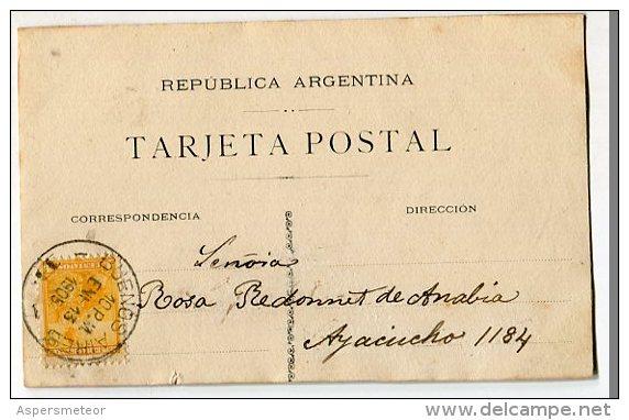 """AUTOGRAFO DÉDICACÉ """"SOFÍA POSADAS"""" CÉLEBRE PINTORA, ESCULTORA Y EDUCADORA ARGENTINA CIRCULEE 1905 EXCLUSIVE GECKO - Autogramme & Autographen"""