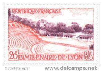 Ref. 121543 * NEW *  - FRANCE . 1957. BIMILLENARY OF LION. BIMILENARIO DE LYON - Francia