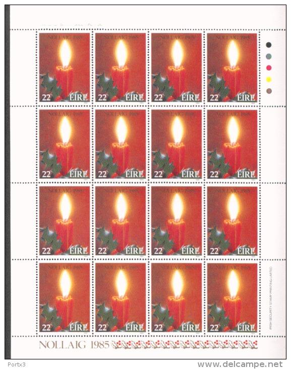 Irland Kleinbogen 583 Weihnachten ** MNH Postfrisch Neuf - Blocchi & Foglietti