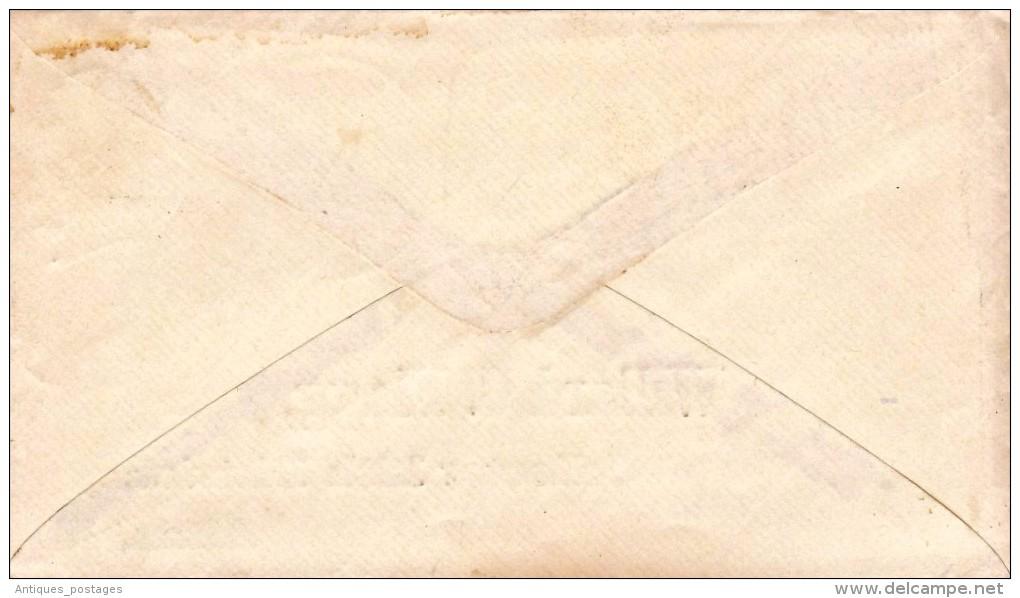USA Lettre Belleville Illinois 1864 Alton - 1847-99 Algemene Uitgaves