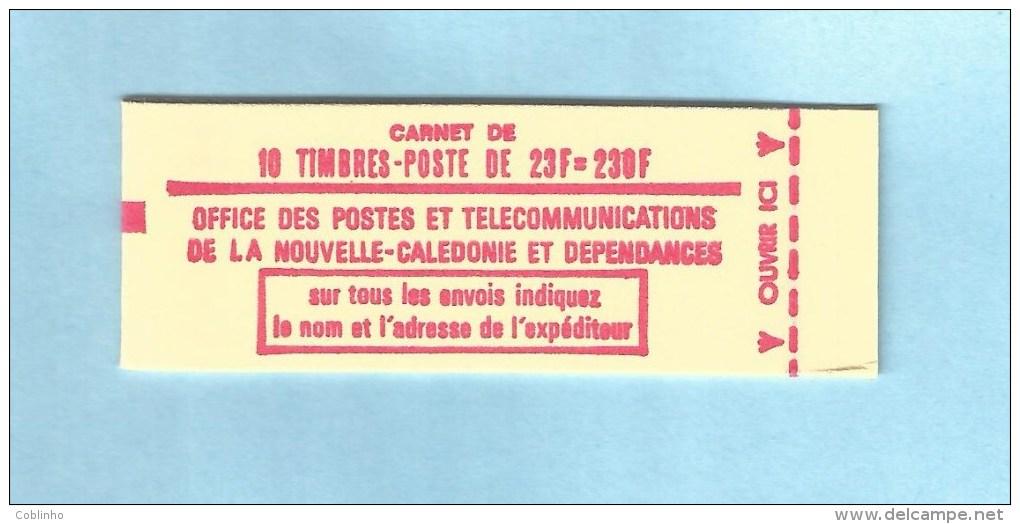 NOUVELLE CALEDONIE (New Caledonia) - Carnet (booklet) Concorde - YT C139 - 1973 - Cuadernillos/libretas