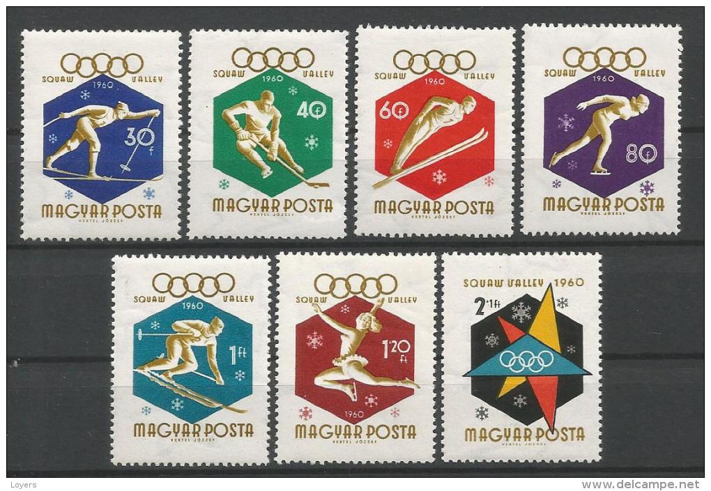 TP DE HONGRIE N° 1353 à 1359  NEUFS SANS CHARNIERE - Hongrie