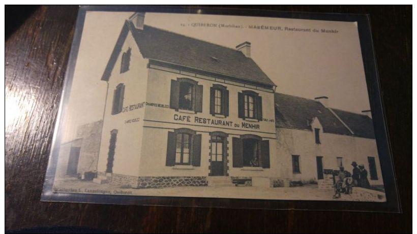 QUIBERON Café Restaurant Du Menhir Maison MANEMEUR - Unclassified