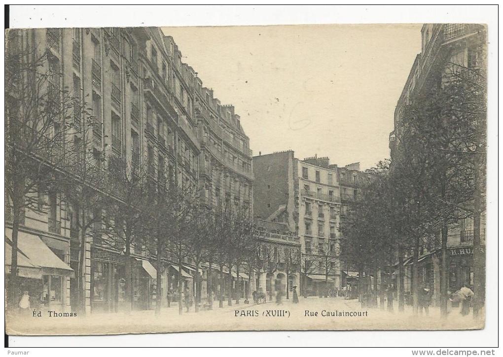 Paris  Rue Caulaincourt - Francia