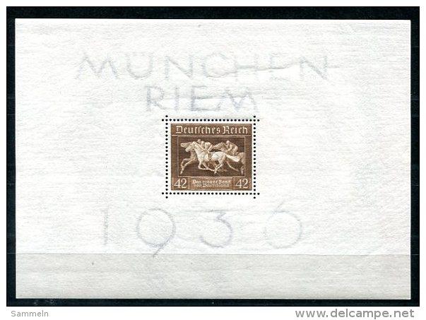 3653 - DEUTSCHES REICH - Block 4 (Das Braune Band Von Deutschland) - Postfrisch - Deutschland