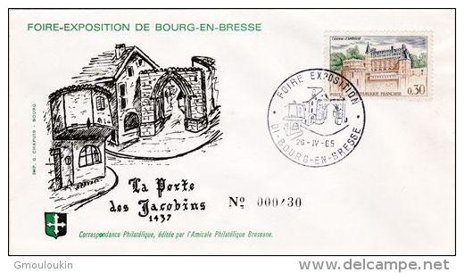 Bourg-en-Bresse - Porte Des Jacobins - Foire Exposition - Bourg-en-Bresse