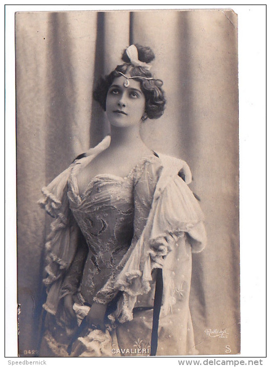 24667 Actrice Acteur Théatre Opéra Courtisane Cantatrice Diva - CAVALIERI -SW 422 Ph Reutlinger - Opéra