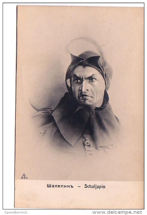 24682 Acteur Théatre Opéra Courtisane Tenor Russie - Fjodor Iwanowitsch Schaljapin AL R 80 - Opéra
