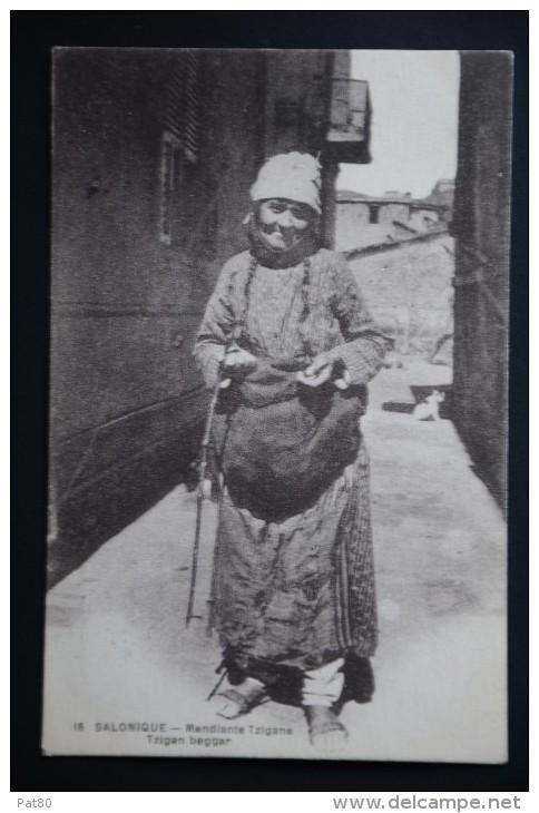 SALONIQUE TZIGANE Mendiante - Europe