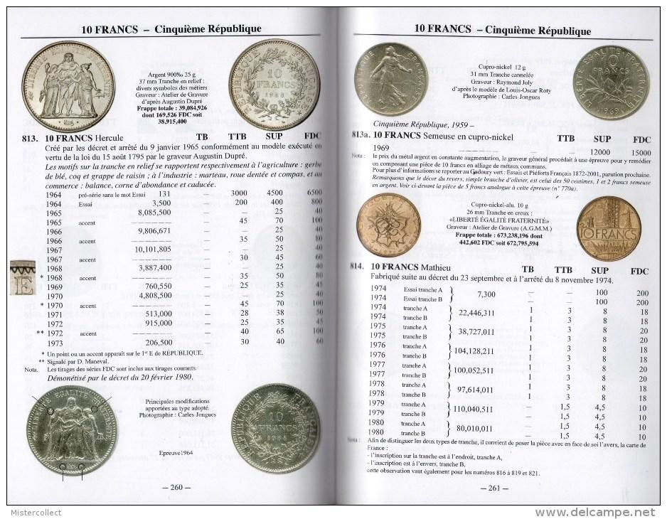 Monnaies Françaises 1789-2013 - Editions VICTOR GADOURY - Livres & Logiciels