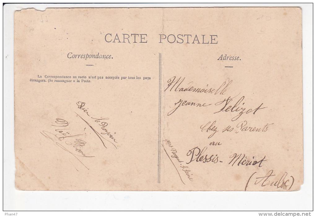 DIEUE (55-Meuse) L'Ecluse, Péniche Et Marinier, Ed. Cuny 1915 - France