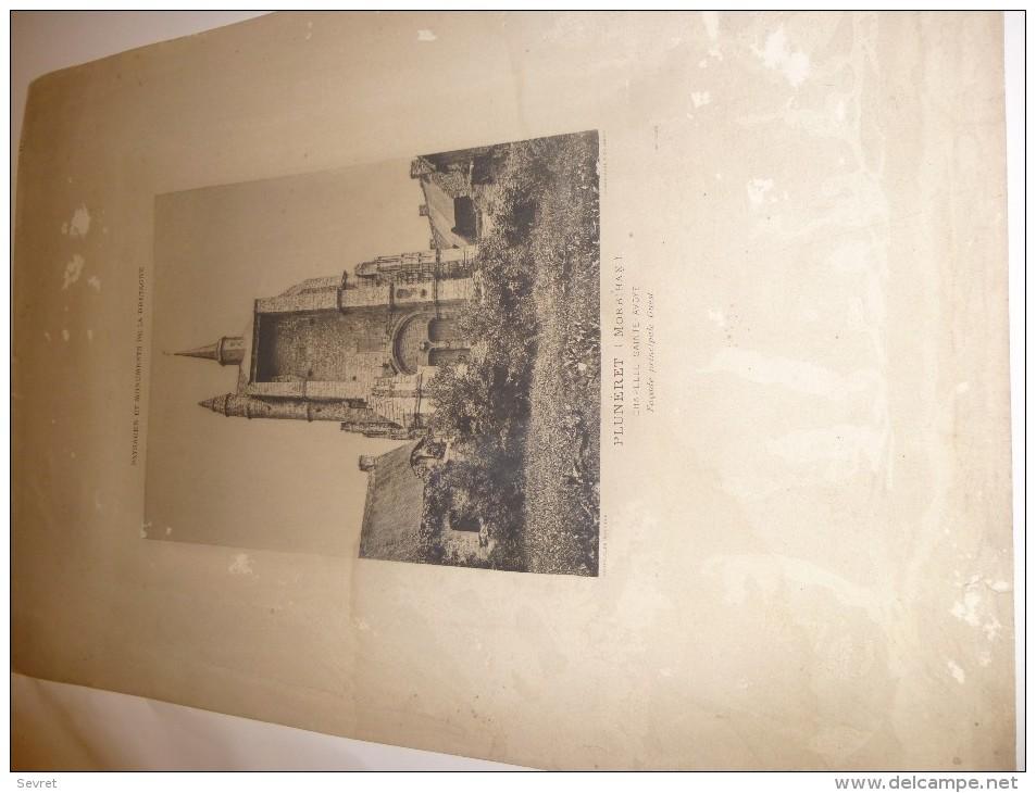 PLUMERET - Morbihan - Paysages Et Monuments De Bretagne Jules Robuchon..Gravure De La Chapelle Ste Avoye . - Documents Historiques