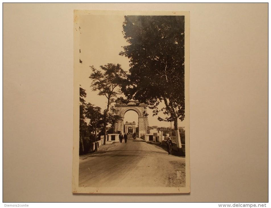 Carte Postale - LE BOULOU (66) - Pont Suspendu Sur Le Tech (542/1000) - Autres Communes